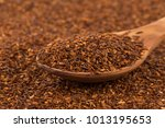heap of red dry rooibos healthy ... | Shutterstock . vector #1013195653
