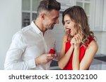 portrait of a handsome man... | Shutterstock . vector #1013202100