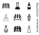 tubes icons. set of 9 editable... | Shutterstock .eps vector #1013207968