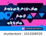 vector creative horizontal... | Shutterstock .eps vector #1013208520