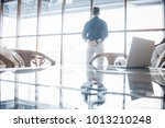 young business executive and... | Shutterstock . vector #1013210248