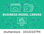 conceptual business... | Shutterstock . vector #1013210794