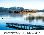 famous chiemsee lake in bavaria ... | Shutterstock . vector #1013226316