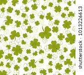 saint patrick's day seamless... | Shutterstock .eps vector #1013226613
