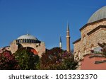 hagia sophia  istanbul  turkey  | Shutterstock . vector #1013232370