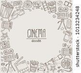 cinema background with movie...