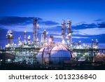 gas storage sphere tanks in...   Shutterstock . vector #1013236840