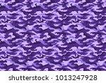 purple camouflage texture.... | Shutterstock .eps vector #1013247928