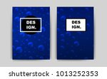 dark blue vector banner for...