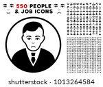 pitiful rounded gentleman... | Shutterstock .eps vector #1013264584