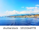 cityscape of messina at the... | Shutterstock . vector #1013266978