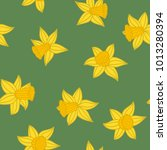 daffodils pattern. pattern from ...