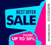 best offer sale discount...   Shutterstock .eps vector #1013282698