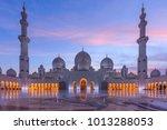 abu dhabi   united arab... | Shutterstock . vector #1013288053