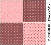 vector heart pattern set. st...   Shutterstock .eps vector #1013289340