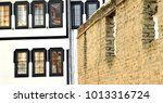 old architecture in ohrid ...   Shutterstock . vector #1013316724