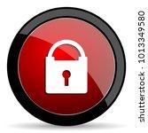 padlock vector icon. modern... | Shutterstock .eps vector #1013349580