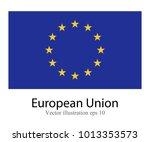 high detailed vector flag of...   Shutterstock .eps vector #1013353573
