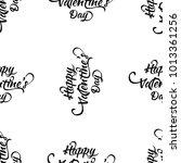 typographic valentines day... | Shutterstock .eps vector #1013361256