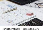 showing equipment business... | Shutterstock . vector #1013361679