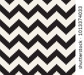 seamless zig zag geometric... | Shutterstock .eps vector #1013374033