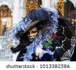 mask of venice carnival 2018 | Shutterstock . vector #1013382586