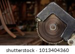 electric saw from steel with... | Shutterstock . vector #1013404360