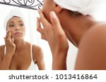 portrait view of beautiful...   Shutterstock . vector #1013416864
