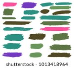collection of hand drawn...   Shutterstock .eps vector #1013418964