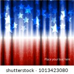 abstract image of the american... | Shutterstock .eps vector #1013423080