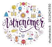 astrology  icons design... | Shutterstock .eps vector #1013424550
