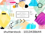 abstract universal art web... | Shutterstock .eps vector #1013438644