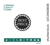 best price label icon | Shutterstock .eps vector #1013460838