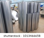 manufacture of ventilation... | Shutterstock . vector #1013466658