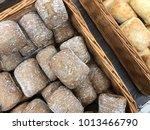 tasty fresh italian ciabatta.... | Shutterstock . vector #1013466790