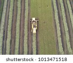 agriculture machinery harvesting | Shutterstock . vector #1013471518