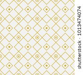 golden geometric pattern.... | Shutterstock .eps vector #1013474074