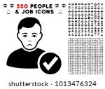 sad valid user pictograph with... | Shutterstock .eps vector #1013476324