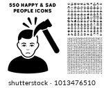 murder pictograph with 550... | Shutterstock .eps vector #1013476510