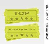 vector tickets | Shutterstock .eps vector #101347786