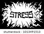 negative environment is causing ... | Shutterstock .eps vector #1013491513