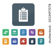 clip icons. vector collection... | Shutterstock .eps vector #1013497078