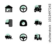 truck icons. vector collection...