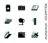 concrete icons. vector... | Shutterstock .eps vector #1013497306