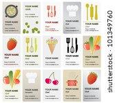 beautiful various vector... | Shutterstock .eps vector #101349760