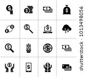 dollar icons. vector collection ...