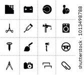 equipment icons. vector...