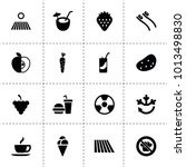 fresh icons. vector collection...