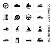 speed icons. vector collection... | Shutterstock .eps vector #1013498920