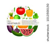 collection of realistic healthy ...   Shutterstock .eps vector #1013500150